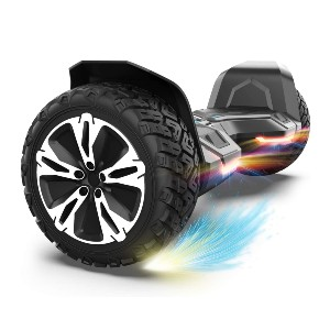 Gyroor Warrior 8.5 inch All Terrain Off Road Hoverboard - Best Hoverboard for Heavy Adults: Ride like a warrior!