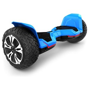 Gyroor Warrior 8.5 inch All Terrain Off Road Hoverboard  - Best Hoverboard Off Road: Choose kid or adult modes