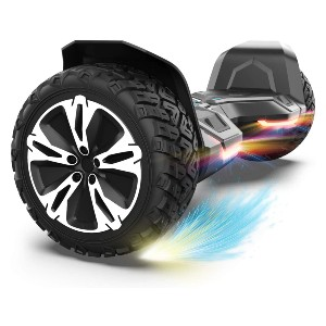 Gyroor Warrior 8.5 inch All Terrain Off Road Hoverboard - Best Hoverboard for Beginners: Ride like a warrior!