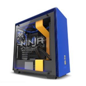 NZXT H700i Ninja - Best Cable Management PC Case: Water-Cooling Installation