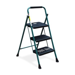 HBTower 3 Step Ladder - Best Step Ladders: Portable and Space-Saving