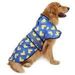 10 Recommendations: Best Raincoats for Big Dogs (Oct  2020): Super adorable pattern