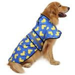 10 Reviews: Best Raincoats for Big Dogs (Oct  2020): Super cute pattern
