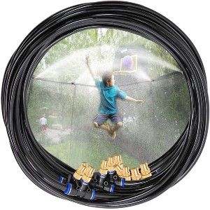 H&G Lifestyles Outdoor Trampoline Water Play Sprinklers  - Best Trampoline Sprinkler: It lasts 10 times longer