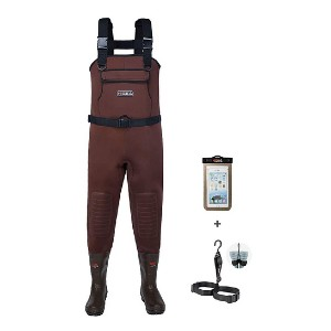 HISEA Neoprene Fishing Chest Waders  - Best Chest Waders for Duck Hunting: Great insulated gear