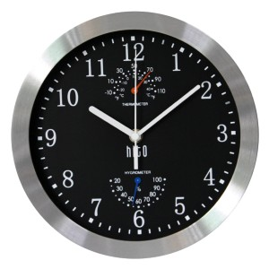 HITO Modern Silent Wall Clock - Best Wall Clock for Living Room: Superior Sweeping Movement to Guarantee True Silence