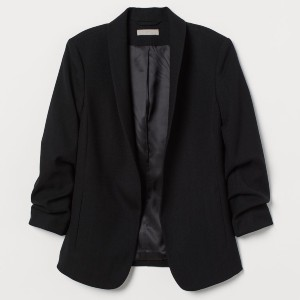 H&M Shawl-collar Jacket - Best Blazers for Petites: Fitted Blazer