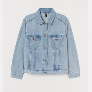H&M Denim Jacket - Best Jacket for Summer: Denim jacket for woman