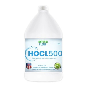 Natural Clean HOCL500  - Best Cleaning Solution for Tile Floors: Effective Surface Cleaning