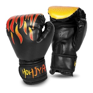 HOHJYA Kids Boxing Gloves - Best Boxing Gloves for Kids: Anti-Perspiration Holes