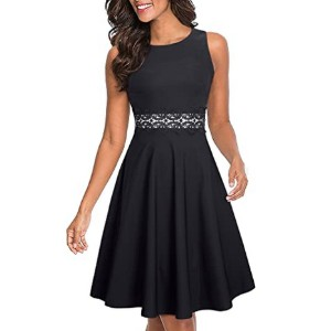 HOMEYEE Women's Embroidery Party Dress A079  - Best Party Dresses for Teenage Girl: Great for various occasions