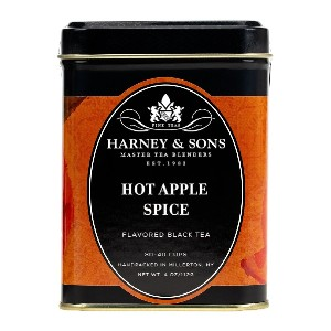 Harney & Sons Hot Apple Spice - Best Tea to Drink at Night: Spicy and Fruity Black Tea