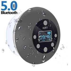 HOTT Waterproof Wireless Bathroom Music - Best Waterproof Speaker: Shower companion