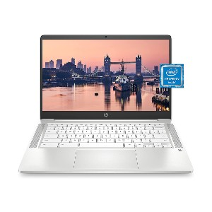 HP Chromebook 14 Laptop - Best Laptops for College Students: Lightweight and Fast Performance