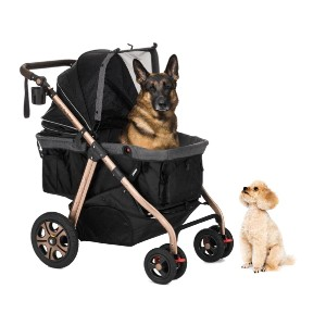 HPZ Pet Rover Titan HD - Best Dog Strollers for Small Dogs: No Assembly Required