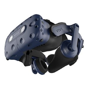 Vive Pro  - Best VR for Laptop: Great noise cancellation