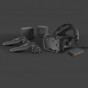 Vive Virtual Reality System  - Best VR for Steam: Out-of-the-box design