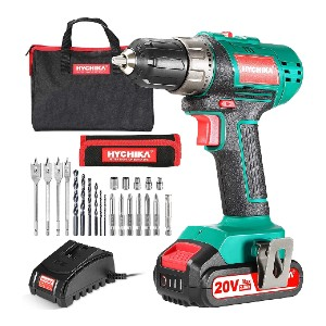 HYCHIKA DD18F - Best Drill for Home Use: Ergonomic Design