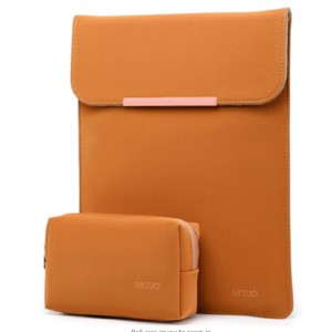 HYZUO  Laptop Sleeve Case - Best Laptop Cases: Laptop case with additional pouch
