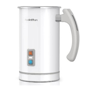 HadinEEon Electric Milk Frother - Best Milk Frother for Oat Milk: Automatically Off Milk Frother