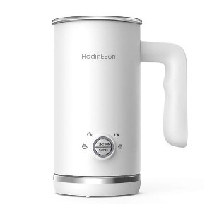 HadinEEon 4 in 1 Electric Milk Frother - Best Milk Frother for Almond Milk: Large Capacity Milk Frother