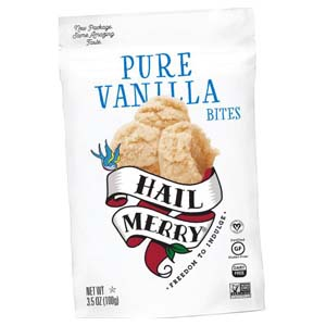 Hail Merry Pure Vanilla Bites - Best Healthy Snack: Sweet treats with low calories