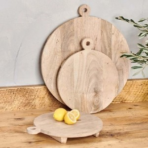 nkuku Haja Board  - Best Cutting Boards for Raw Meat: The thickest of all
