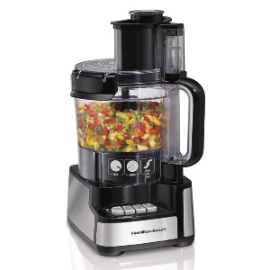 Hamilton Beach 70725A - Best Blender Food Processor Combo: Simple to Assemble and Use