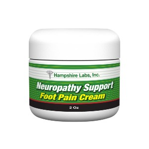 Hampshire Labs Neuropathy Foot Pain Cream  - Best Foot Creams for Neuropathy: Natural Ingredients Cream