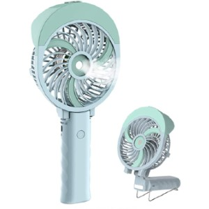 HandFan Portable Handheld Misting Fan - Best Portable Misting Fan: Foldable Misting Fan