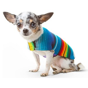 Baja Ponchos Handmade Dog Poncho - Best Clothes for Dogs: Unique handmade outfit
