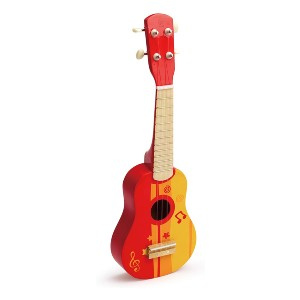 Hape Kid's Wooden Toy Ukulele - Best Musical Toys for 2 Year Olds: It is tunable!