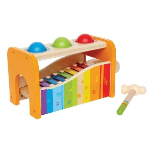 Hape Pound & Tap Bench with Slide Out Xylophone - Best Musical Toys for 2 Year Olds: Super versatile!
