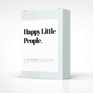 Happy Little People Card Deck: The First Year - Best Mothers Day Gift for New Mom: Never run out of ideas