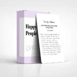 Happy Little People Card Deck: The Second Year - Best Flashcards for 2 Year Olds: No more torn cards