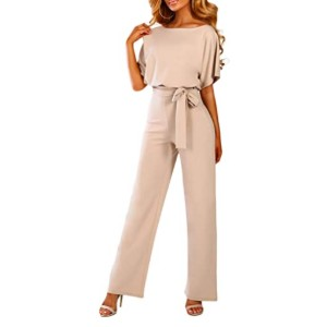 Happy Sailed Women Casual Loose Belted Jumpsuits - Best Jumpsuits on Amazon: Looks professional