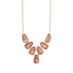 KENDRA SCOTT Harlie Rose Gold Statement Necklace - Best Jewelry for 30th Birthday:  Sure to catch the eye