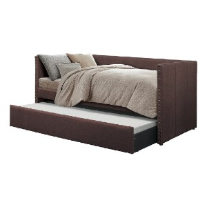 Hashtag Home Yelton Twin Daybed with Trundle - Best Daybeds for Small Spaces: Solid Daybed