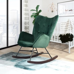 Hashtag Home Channel Rocking Chair - Best Rocking Chair for Nursery: Gorgeous Rocking Chair