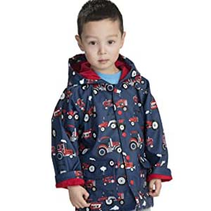 Hatley Boys' Great White Sharks Raincoat - Best Raincoats for Toddlers: Various printed pattern for boys