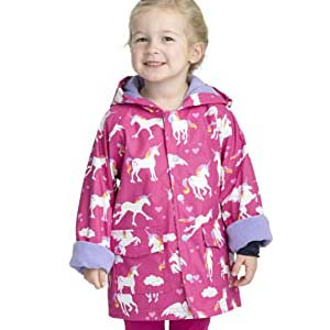 Hatley Girls Printed Raincoats - Best Raincoats for Toddlers: Four cute pattern choices