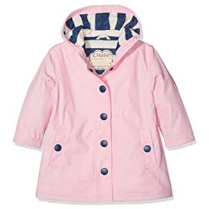 Hatley Classic Pink Rain Jacket - Best Raincoats for Toddlers: Classy in pastel