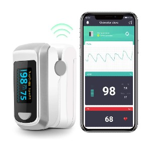 HealthTree Bluetooth Fingertip Pulse Oximeter  - Best Pulse Oximeter with Bluetooth: Best for budget