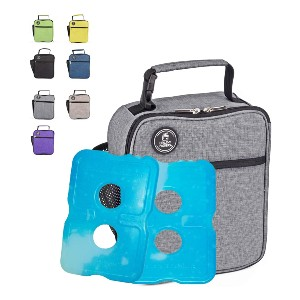 Healthy Packers Insulated Lunch Box - Best Lunch Box with Ice Pack: Superior Quality