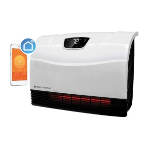 Heat Storm WIFI Infrared Heater - Best Space Heater for Garage Gym: Stays cool heater