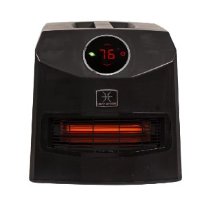 Heat Storm Mojave Ultra Portable 1,500 Watt Electric Infrared Cabinet Heater - Best Space Heaters Infrared: Energy-efficient heater