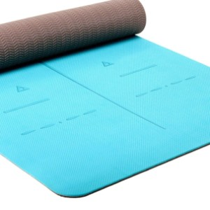 Heathyoga Eco Friendly Non Slip Yoga Mat - Best Yoga Mat for Beginners: Safeness and Comfortable Mat
