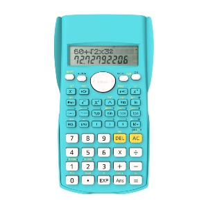 Helect 2-Line Engineering Scientific Calculator - Best Calculators for Statistics: Solid Sliding Protective Case Covers