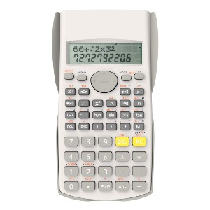 Helect 2-Line Engineering Scientific Calculator - Best Scientific Calculator for Secondary School: Three Angle Modes