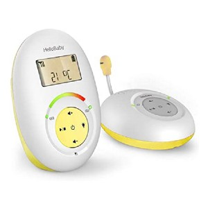 HelloBaby HB180 - Best Audio-Only Baby Monitors: Adjust the temperature